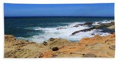 Beach Towel featuring the photograph Cape Arago Coast 6 by Dawn Richards
