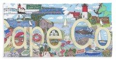 Cape Cod Beach Towel