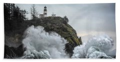 Cape Disappointment Chaos Beach Towel