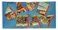 Cape May Greetings - Version 2 Beach Sheet