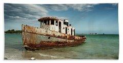 Caribbean Shipwreck 21002 Beach Sheet