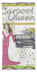 Carpool Queen Beach Sheet
