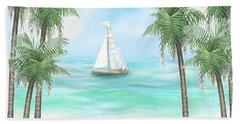 Carribean Bay Beach Towel