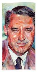 Cary Grant Portrait Beach Towel