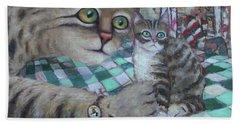 Cat Daddy Beach Towel