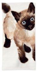 Cat Malcolm Beach Towel