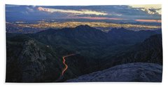 Catalina Highway And Tucson Beach Towel