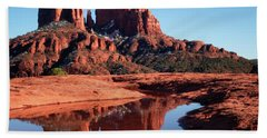 Cathedral Rock Reflection II Beach Towel
