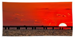 Causeway Sunset Beach Towel