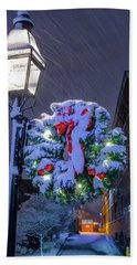 Beach Towel featuring the photograph Celebrate The Season by Jeff Sinon