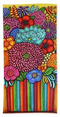 Celebration Bouquet Beach Towel
