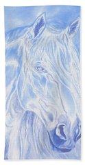 Celestial Stallion Beach Towel