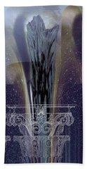 Celestial Vase Abstract Beach Towel