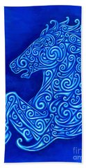 Celtic Horse Beach Towel