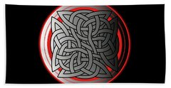 Celtic Shield Knot 4 Beach Towel