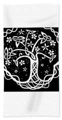Celtic Tree Of Life 3 Beach Towel