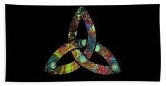 Celtic Triquetra Or Trinity Knot Symbol 1 Beach Towel