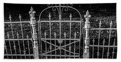 054 - Cemetery Gate Beach Towel