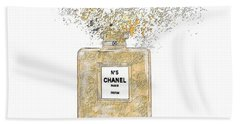 Chanel Explosion Beach Towel