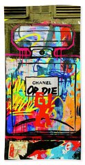 Chanel Or Die That Is The Question  Beach Towel