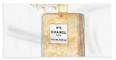 Chanel Splash Beach Towel