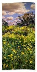 Chatsworth Wildflower Bloom Beach Towel