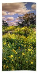 Chatsworth Wildflower Bloom Beach Towel