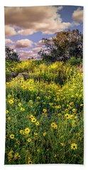 Chatsworth Wildflower Bloom Beach Sheet