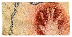 Chauvet Red Hand And Mammoth Beach Towel