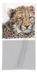 Cheetah Cub Beach Sheet