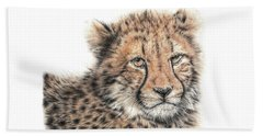 Cheetah Cub Beach Towel