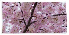 Cherry Blossoms 8611 Beach Towel