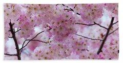 Cherry Blossoms 8625 Beach Towel