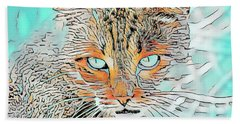 Chester Art Beach Towel