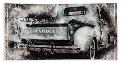 Chevrolet Workhorse Beach Towel