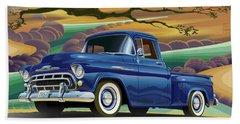 Chevy Truck Centennial 3100 Beach Towel
