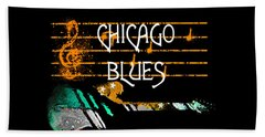 Chicago Blues Music Beach Sheet