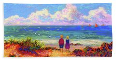 Children Of The Sea Beach Towel