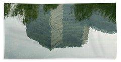China Reflection  Beach Towel