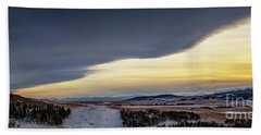 Beach Towel featuring the photograph Chinook Arch by Brad Allen Fine Art