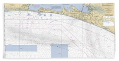 Choctawhatchee Bay Noaa Chart 11388 Beach Towel