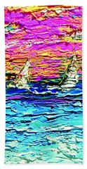 Choppy Seas Beach Towel