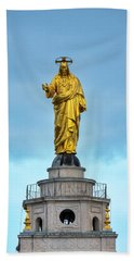 Beach Towel featuring the photograph Christ The Redeemer by Fabrizio Troiani