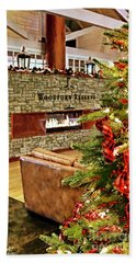 Christmas At Woodford Reserve Beach Towel