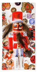 Christmas Soldier Spook Beach Towel