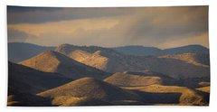 Chupadera Mountains II Beach Towel