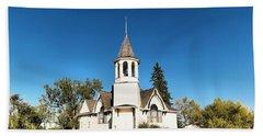 Church In Saskatchewan  Beach Towel