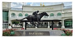 Churchill Downs Barbaro Beach Towel