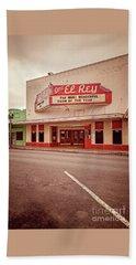 Cine El Rey Theater Beach Towel