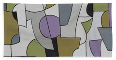 Circuitous Beach Towel
